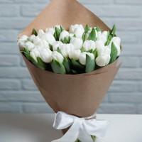 Букет из 30шт тюльпанов микс